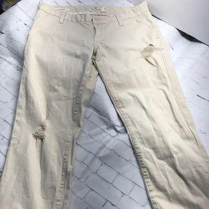 Lucky Brand Khaki Pants 4/27 sienna chino EUC